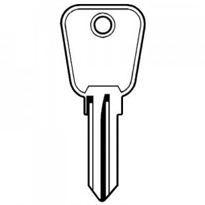 Land Rover Defender door key UNI8